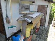 漬け物置場の屋根作り工事:画像