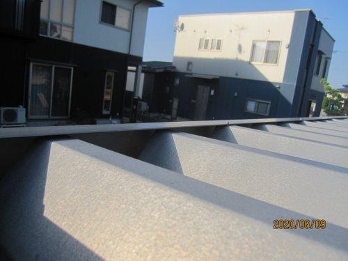 カーポート雨樋から水が漏れることはありますか??:画像