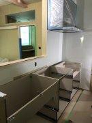 キッチン組み立て中:画像