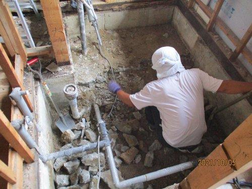 水廻り改装工事:画像