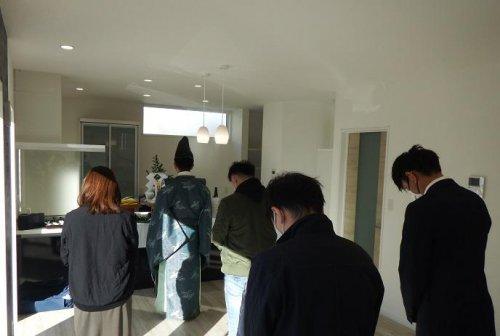 入居祈祷と地鎮祭:画像