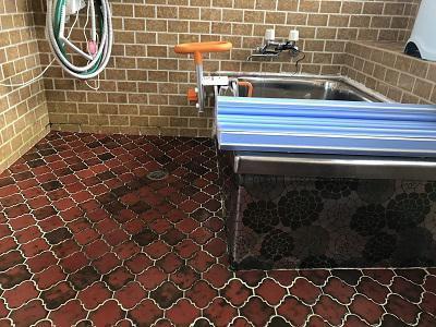 浴室改装工事開始!!:画像