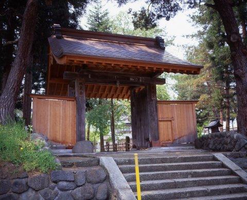 春日山林泉寺:画像