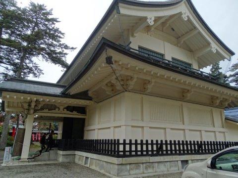 2016-10-31  上杉神社稽照殿:画像