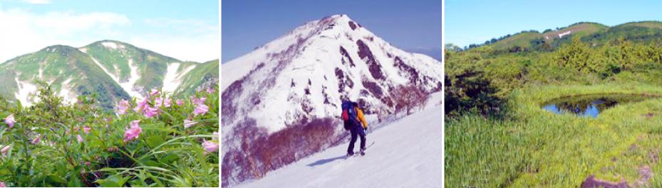東北のアルプス〜朝日連峰:画像