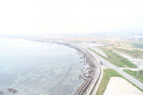 岩井崎海岸第4治山工事:画像