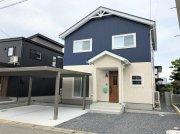 北欧風 ツートンカラーの家:画像