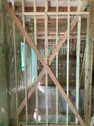 アパートの界壁工事:画像