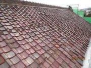 蔵の屋根替え工事始まる:画像