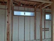 壁の断熱施工が完了しました!:画像