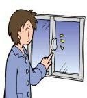 窓のカギがかかりにくい・・・ということはありませんか?:画像