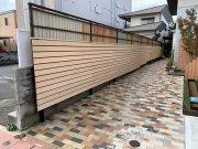 板塀をつくりました!:画像