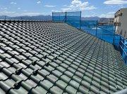 洋風瓦の屋根:画像