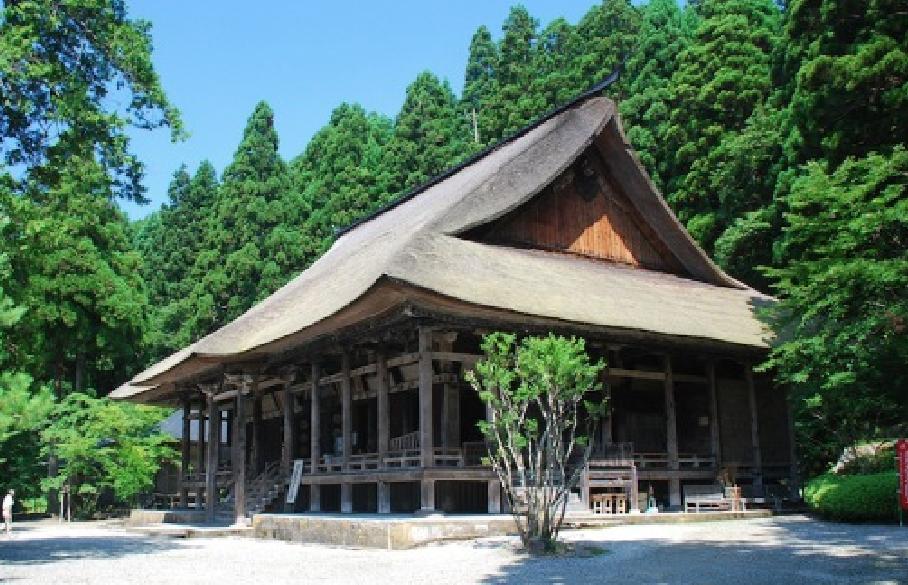 慈恩寺の夏