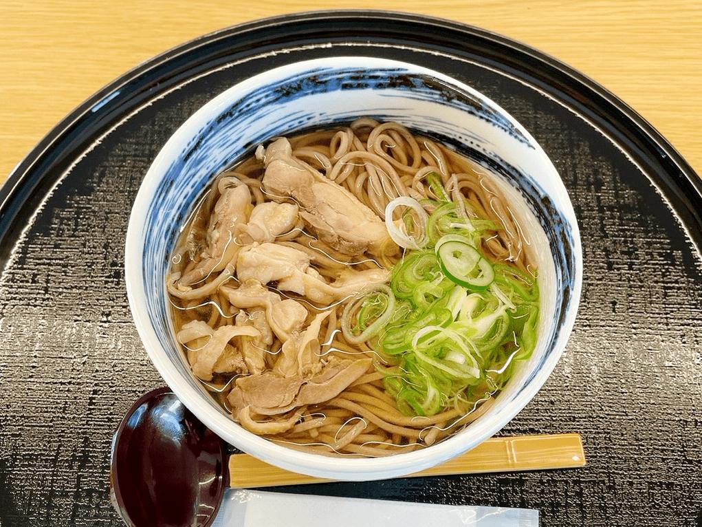 肉そば(冷・温)
