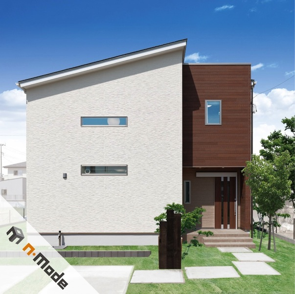 n-mode〜新世代のためのシンプルなモダニズム住宅