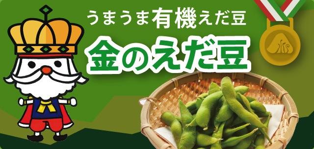 山形県東根産「金の枝豆(えだまめ)」