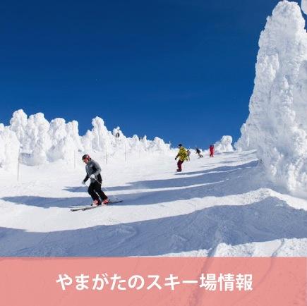 やまがたのスキー場情報