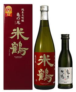 米鶴純米大吟醸 亀の尾