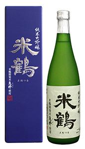 米鶴純米大吟醸 亀粋