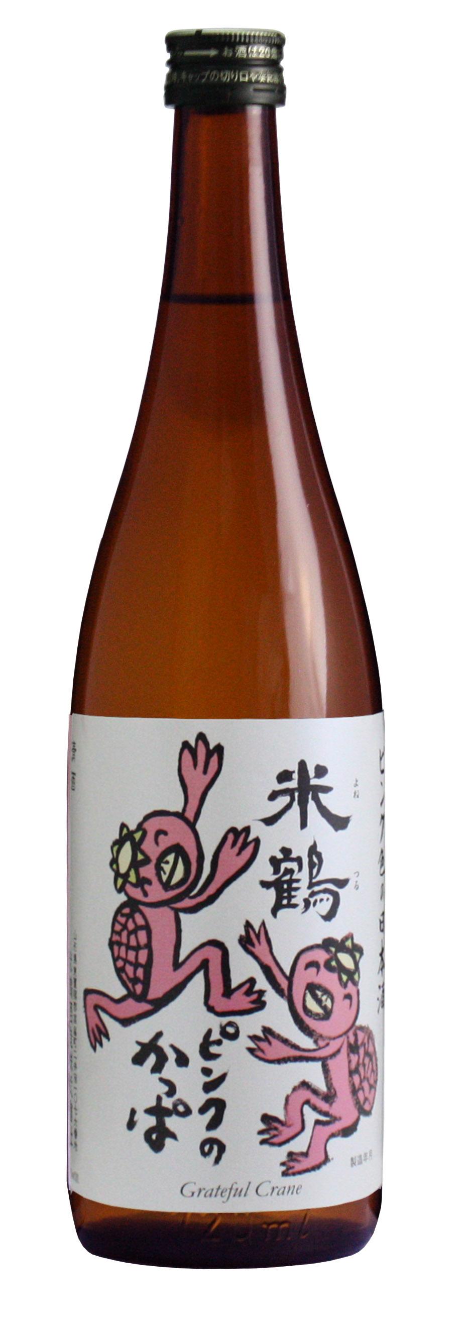 米鶴 ピンクのかっぱ純米酒