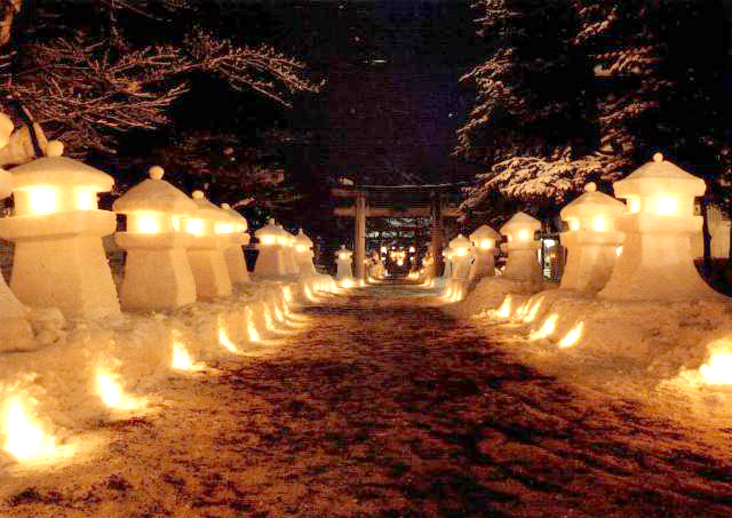 上杉雪灯篭祭り